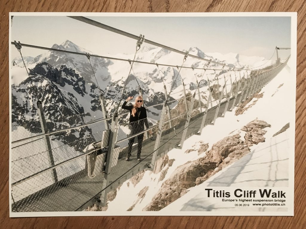 Titlis Cliff Walk Tiina Kivelä